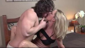 Son Seduces Stepmom Jodi West.