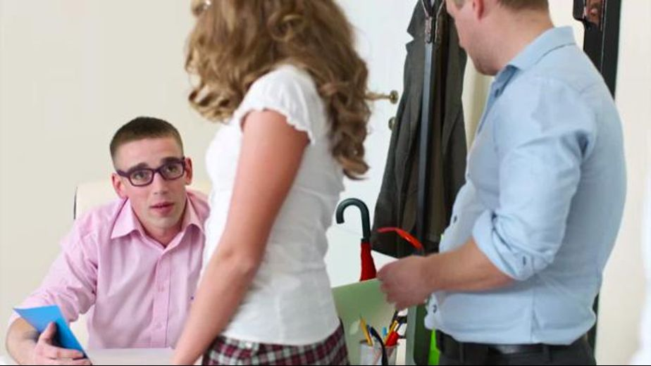 Sofi Finds a Way to Get Extra Credit, starring Sofi Goldfinger, produced by Private Media. Video Categories: College Girls, Blowjob, GangBang, Small Tits and Blondes.