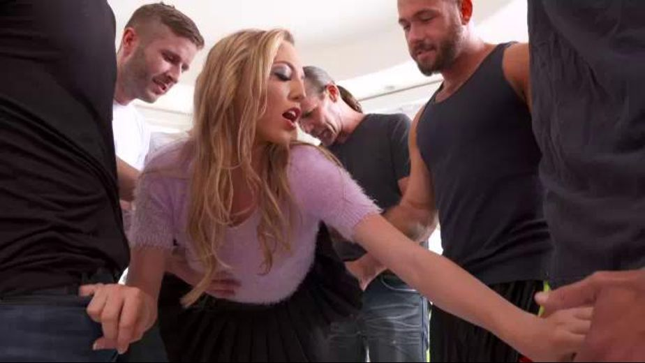 Aubrey Star Is Hungry for Lots of Cock, starring Aubrey Star, produced by Jules Jordan Video. Video Categories: Blowjob, Gonzo, Blondes and GangBang.