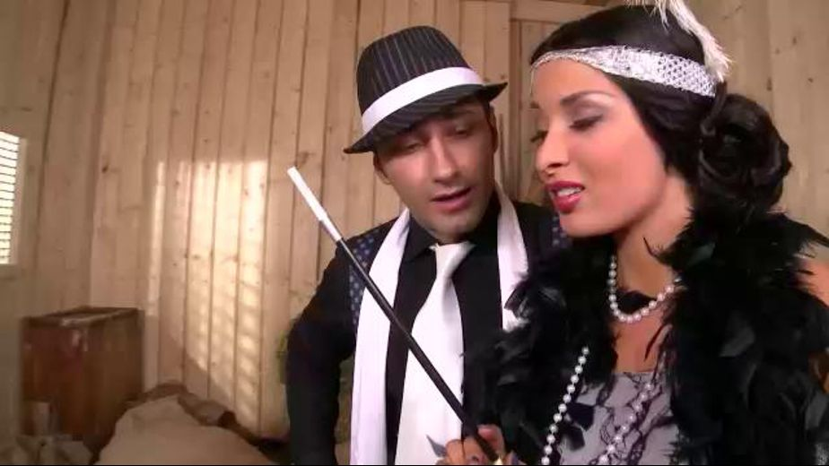 The Gangster, the Flapper and the Victim, starring Anissa Kate, produced by DDF Production Ltd. Video Categories: Fetish, Brunettes, Big Tits and Threeway.