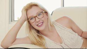 Geeky Blonde Samantha Rone.