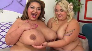 Four Plus Size Ladies in an Orgy.