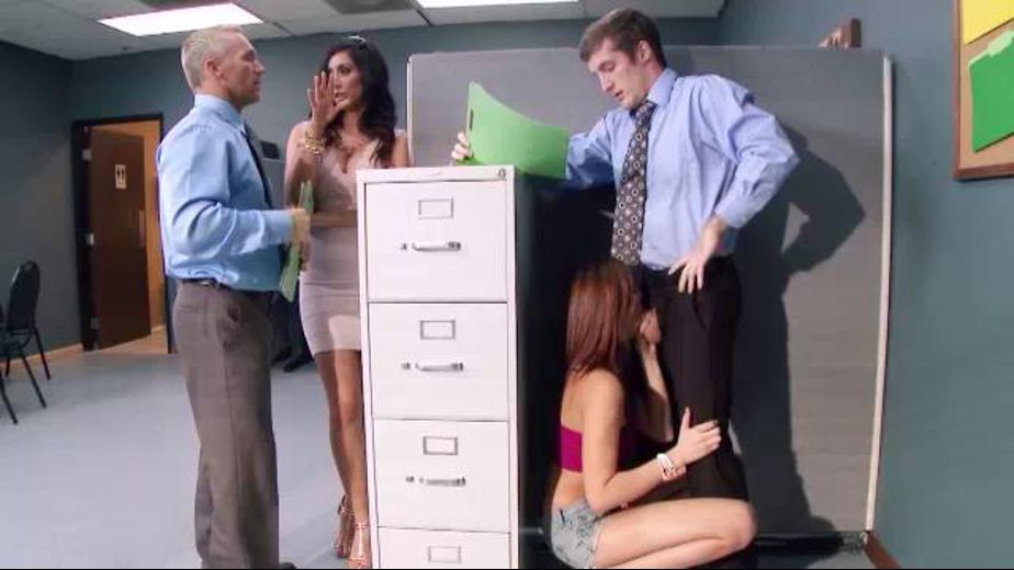 Screwing the Boss' Daughter at Work, starring Isis Love and Ariana Marie, produced by Brazzers. Video Categories: MILF, Brunettes and Adult Humor.