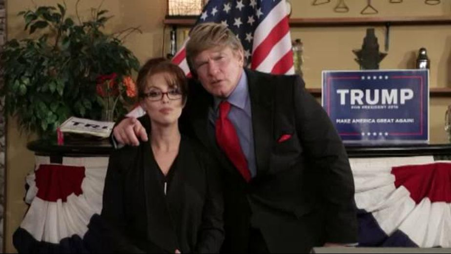 Vice Presidential Contenders Get Trumped, starring Evan Stone and Britney Amber, produced by Hustler. Video Categories: Latin, Adult Humor and Brunettes.
