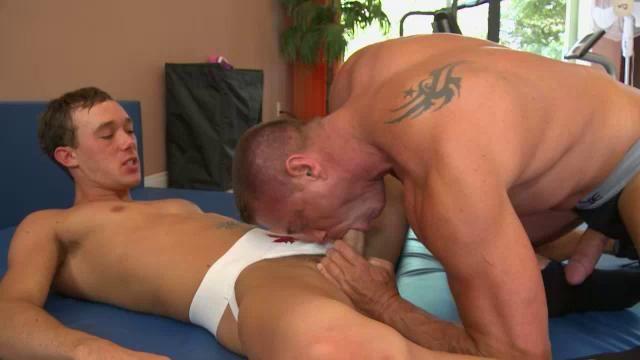 Brunette boys enjoy hot sex