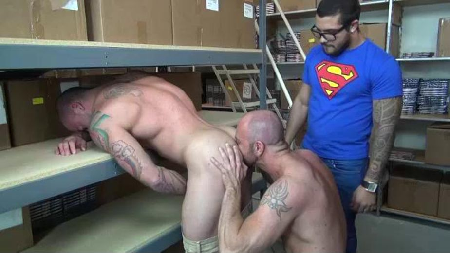 Cock In After Clocking Out, starring Mario Cruz, Sean Duran and Matt Stevens, produced by Raw Fuck Club and Dark Alley Media. Video Categories: Blowjob, Muscles, Threeway and Anal.