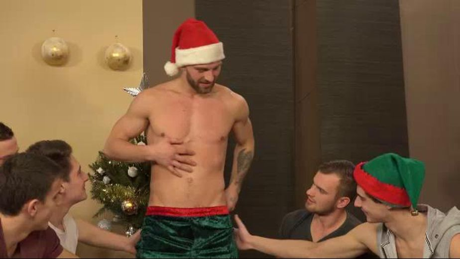 Merry Christmas Orgy From Prague, starring Rosta Benecky and Mirek Belan, produced by William Higgins. Video Categories: Threeway, Blowjob, Euro, Orgies and Muscles.
