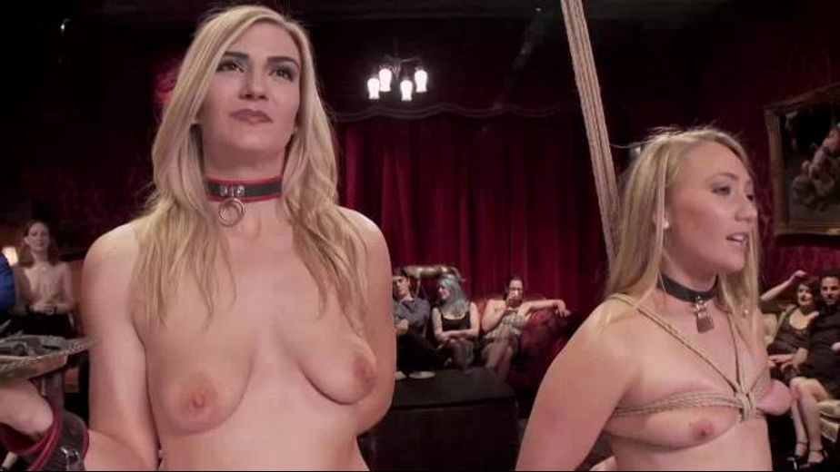 Amanda Tate and A.J. Applegate Are Slaves, starring A.J. Applegate and Amanda Tate, produced by Kink. Video Categories: BDSM, Natural Breasts, Fetish and Anal.