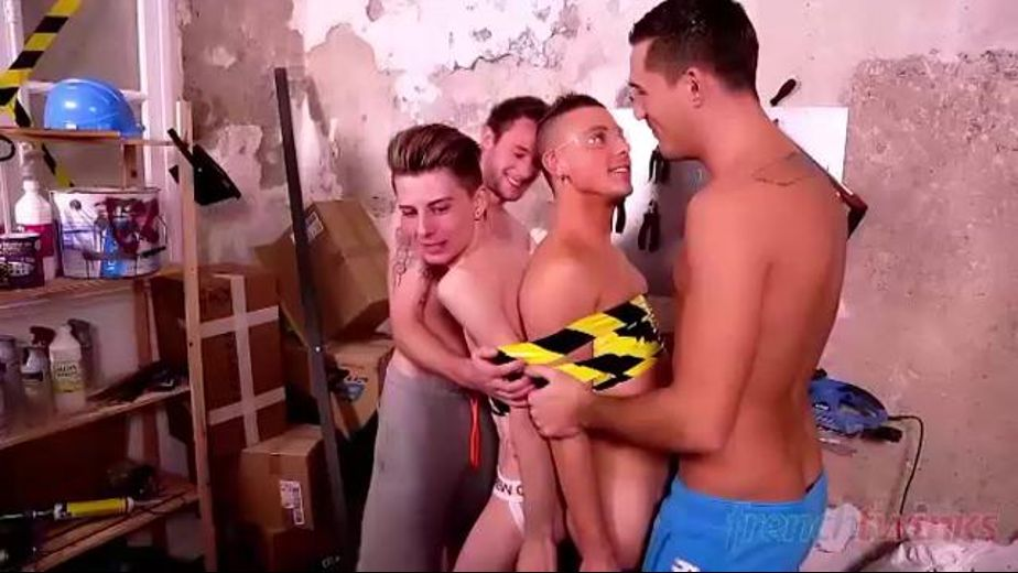 Conjoined Twinks Probed and Fingered, starring Guillaume, Thomas, Jerome and Theo Ford, produced by French Twinks. Video Categories: Orgies, College Guys, Euro and Anal.