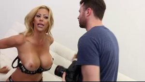 Alexis Fawx Is A Big Titted Housewife.