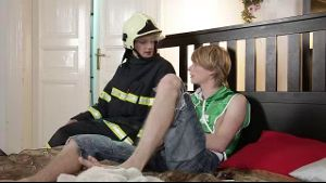 Martyn Fox Calls In a False Alarm to Fireman.