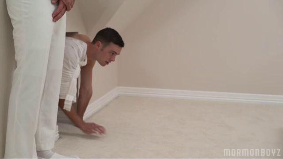 Going Into the White Room, starring Elder White, President Nelson and President Oaks, produced by Missionary Boyz. Video Categories: Masturbation, Mature, College Guys and Blowjob.
