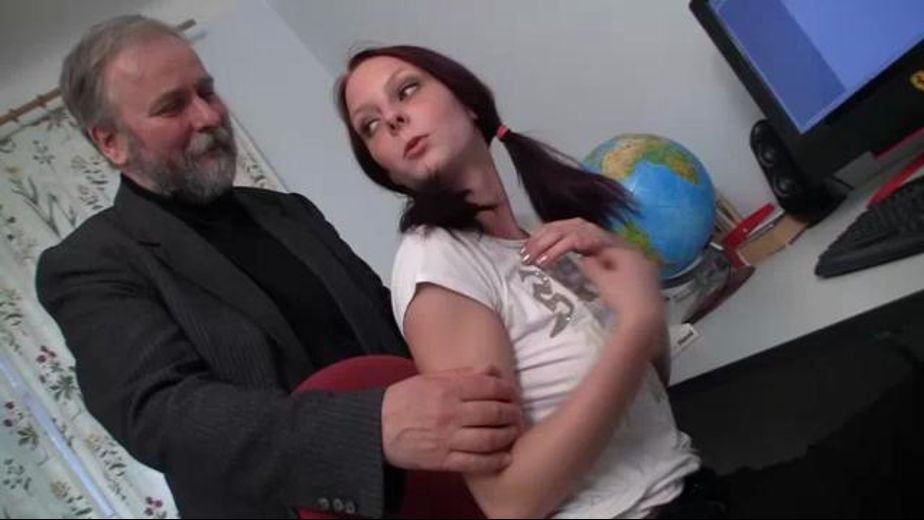 The Graybeard and the Babysitter, starring Pavla, produced by Porn Academy. Video Categories: College Girls, Mature, Redheads, Older/Younger and Natural Breasts.