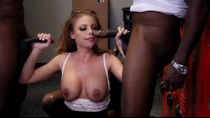 Britney Amber Banged By The Basketball Team.