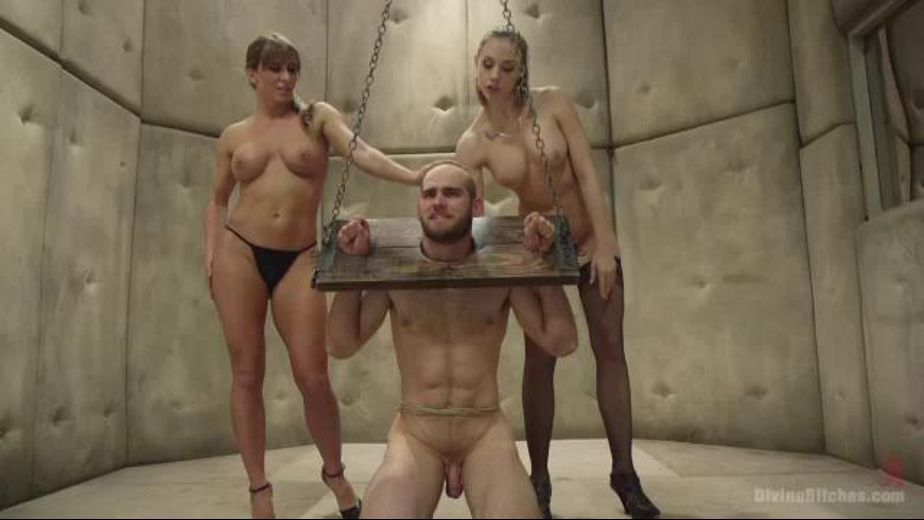 Women Put John Smith In The Rack, starring John Smith, Ariel X and Chanel Preston, produced by Kink. Video Categories: Fetish and BDSM.
