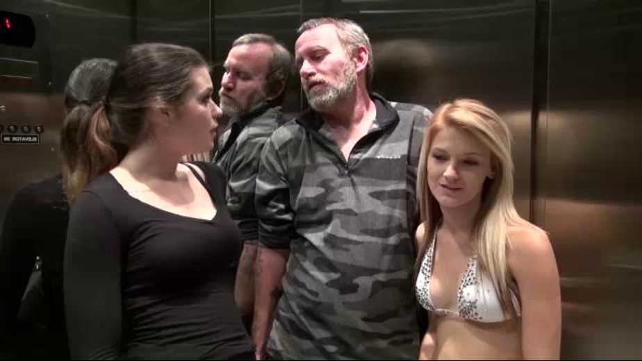 Family Love In An Elevator, starring Hope Harper, JW Ties and Anastasia Rose, produced by Desperate Pleasures. Video Categories: Adult Humor.