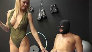Blackmailed To Get A Handjob.