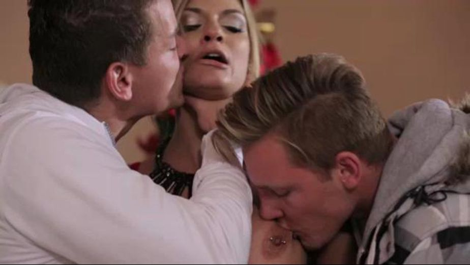 A Threesome For Christmas, starring Klarisa Leone, produced by Private Media. Video Categories: Anal.