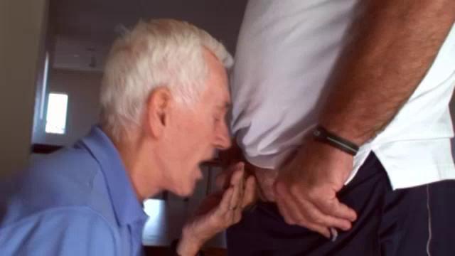 Veľký péro otecko Gay porno