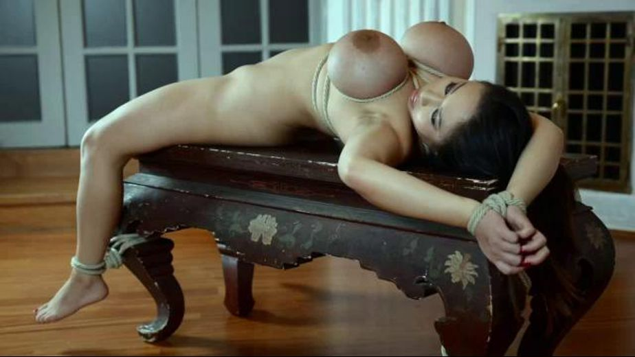 Bound Totally Nude On The Ottoman, starring Tigerr Benson, produced by Bizarre Video Productions. Video Categories: Fetish, BDSM and Anal.