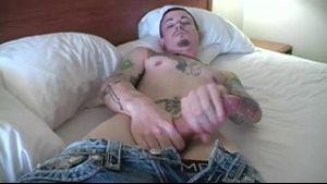 Matt Wood Presents His Very Large Cock.