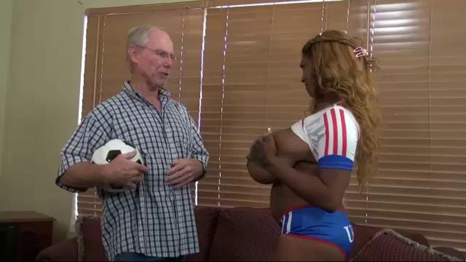 Rachel Raxxx Busty Black Soccer Player, starring Rachel Raxxx, produced by Desperate Pleasures. Video Categories: Interracial and Black.