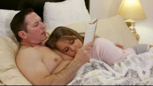 Liza Rowe Takes Care Of Lonely Dad.