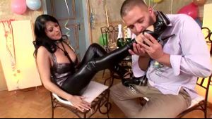 Alison Star Gets Kinky For New years Eve.
