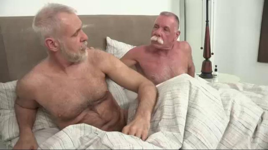Silver Daddies Like To Get Down Starring Allen Silver And Scott Reynolds Produced By