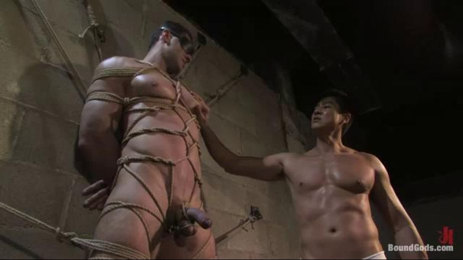 Bodybuilder Gets Tied Up For Use, starring Van Darkholme and Alex Fresno, produced by KinkMen. Video Categories: Safe Sex and Muscles.