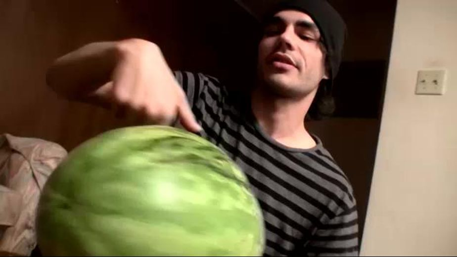 Emo Fruit Gangsters Gangbang Watermelons, starring Blinx, Devin Reynolds and Kenneth Slayer, produced by Straight Naked Thugs and PornPlays. Video Categories: WTF and College Guys.