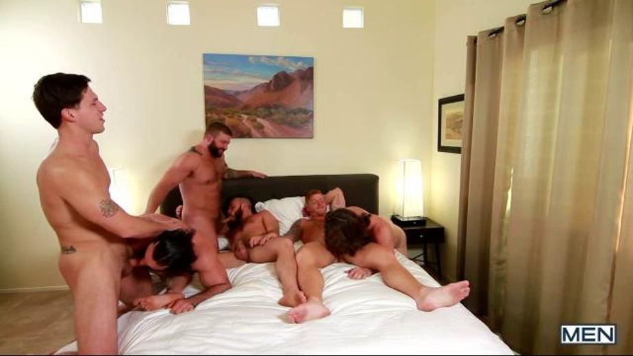 Bears Are Loose In Palm Springs, starring Colby Jansen, Roman Todd, Paul Canon, Jaxton Wheeler, Bennett Anthony and Gus Turner, produced by Men. Video Categories: Bear, Safe Sex and Muscles.
