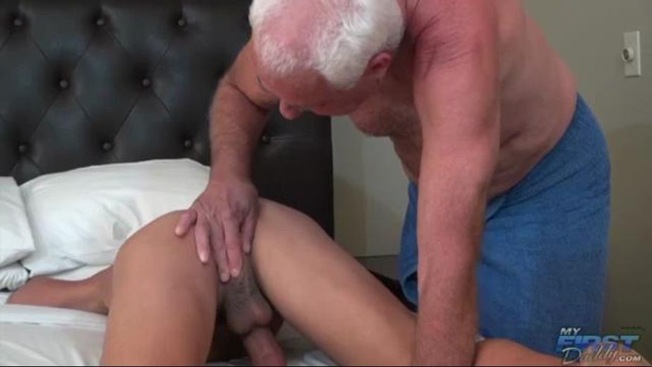 Big Cocked Daddy Breaks In A Pup, produced by My First Daddy and Older4Me. Video Categories: Bareback.