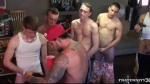 Big Time Orgy At The Frathouse.