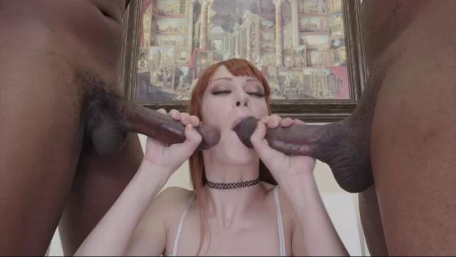 Alexa Nova Gets Double Interracial, starring Alexa Nova, produced by Hush Hush Entertainment. Video Categories: Threeway, Small Tits, Anal and Interracial.