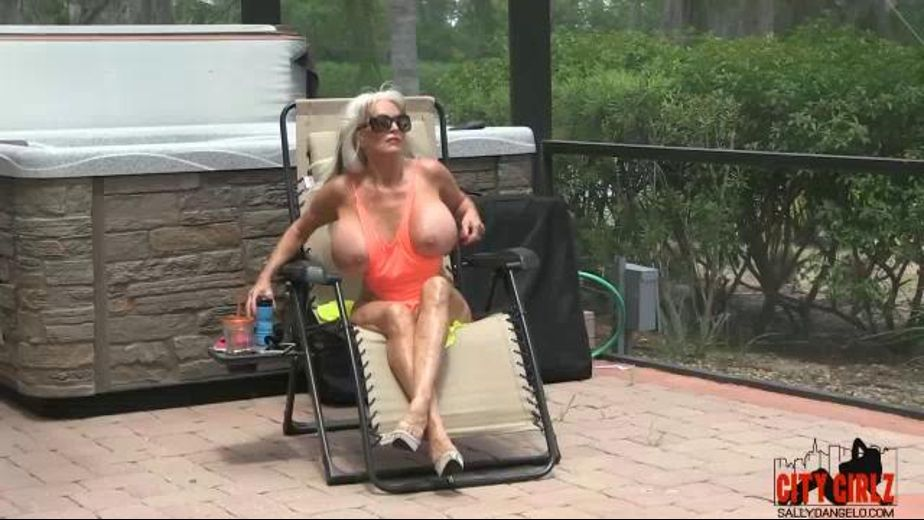 Sally D'angelo Has Gator In Her Pool, starring Sally D'Angelo and Shaun Damm, produced by City Girlz and Sally D'Angelo. Video Categories: Big Tits, Blondes, Mature and Interracial.