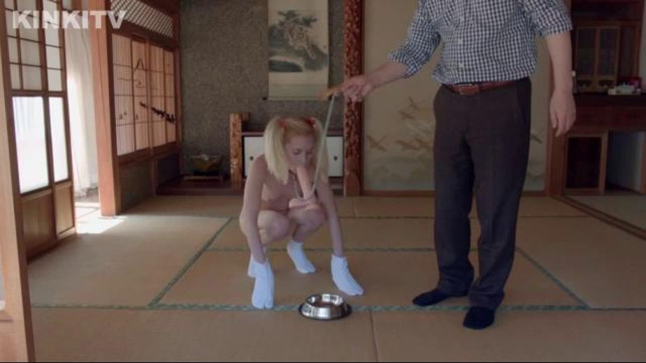 Odette Delacroix Trains To Be A Dog, starring Odette Delacroix, produced by Benson Media Productions. Video Categories: Blondes and Fetish.