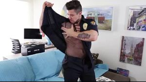 Officer Kink Strips All The Way Down.
