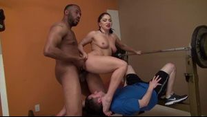 Lea Lush Punishes Whimpy Men.