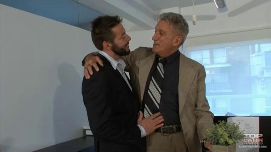 Guys Get It On In The Office, starring Nick Bay and Muller, produced by Older4Me. Video Categories: Bareback.