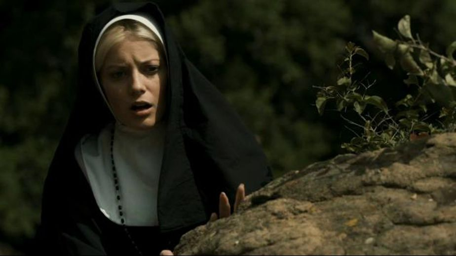 Nun On Nun Sinful Woodland Encounter, starring Penny Pax and Darcie Dolce, produced by Sweetheart Video and Mile High Media. Video Categories: Lesbian.