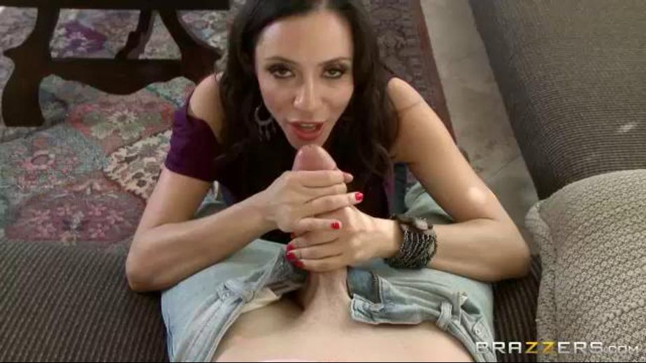Mom Has A  Real Cock Craving, starring Ariella Ferrera and Jessy Jones, produced by Brazzers. Video Categories: MILF and Big Tits.