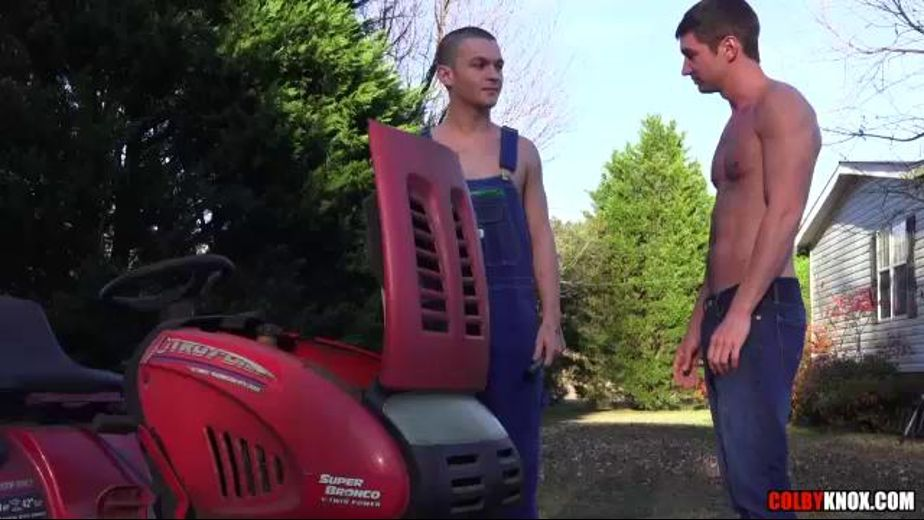 Colby Chambers Is Out On The Farm, starring Colby Chambers and Keaton Plowman, produced by Colby Knox. Video Categories: Safe Sex and Muscles.