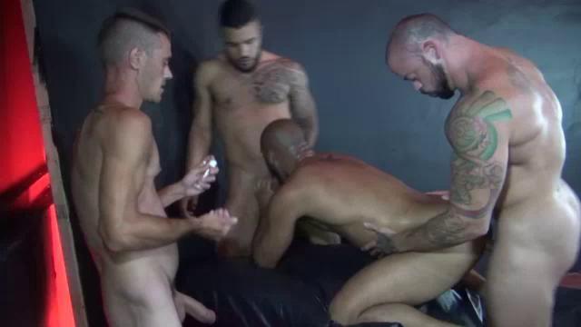 gang bang oral orgy