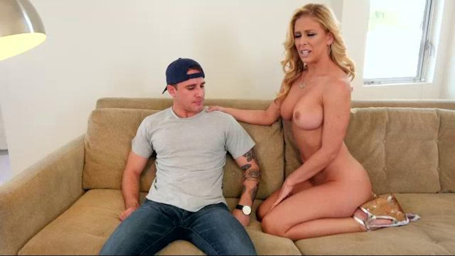 Stepson Busts Cherie DeVille, produced by Evil Angel. Video Categories: MILF, Anal, Blondes and Gonzo.