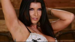 Romi Rain Is Ready To Be Taken To Breakfast.