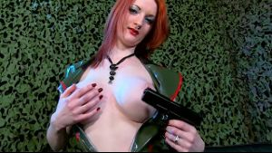 Zara Du Rose Is A Dangerous Redhead.