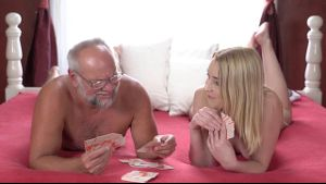 Gramps Looses At Strip Poker.