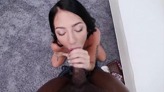 Interracial Casting Couch 23 - Scene 4