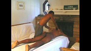 Black Man Gives Deep Massage.